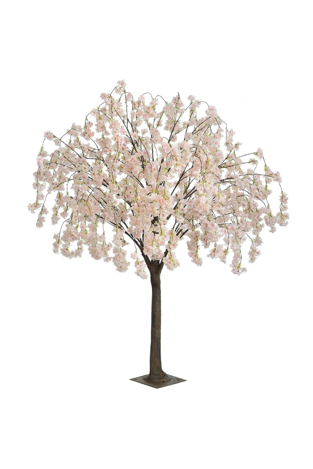 Artificial Cherry Blossom Tree Weeping 1 8m Light Pink