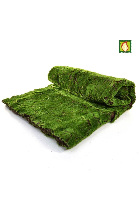 Artificial Moss Sheet Inherently Flame Retardant