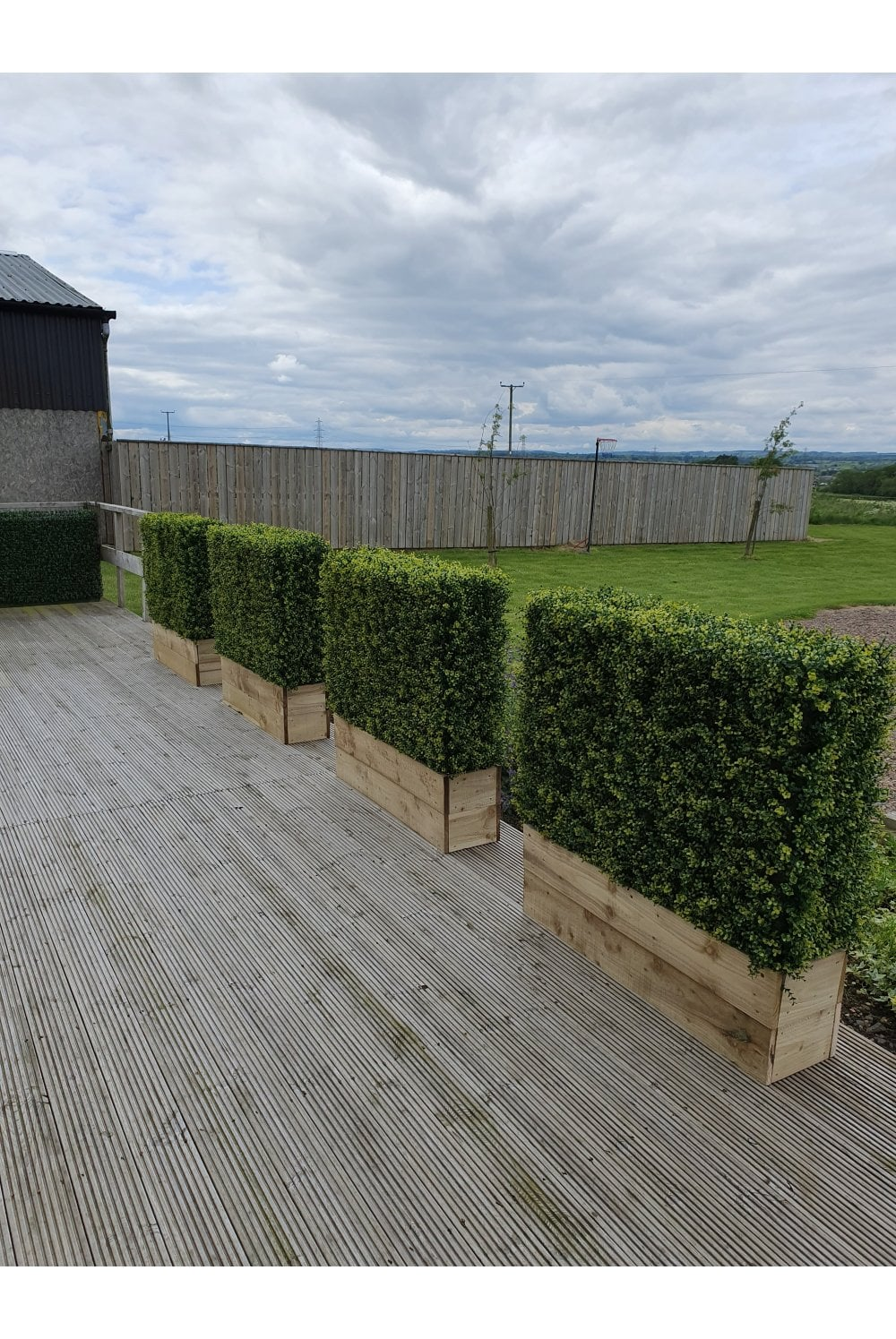 Artificial Ready Made Boxwood Hedges The Artificial Plants Shop